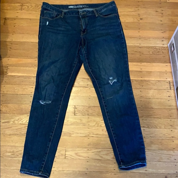 Old Navy Denim - Old Navy Rock Star Mid Rise Jeans